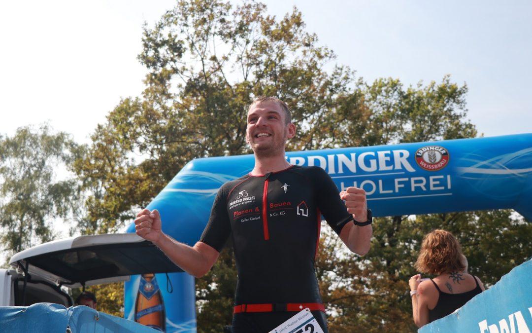 3MUC Triathlon München (25.08.2019) – Treppchenplatzierung für Matthias Türk