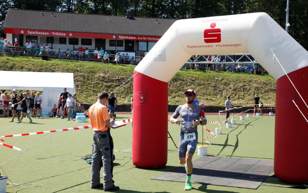 37. Hückeswagener Triathlon (24.08.2019) – Chris Dels siegt beim ältesten Triathlon Europas!