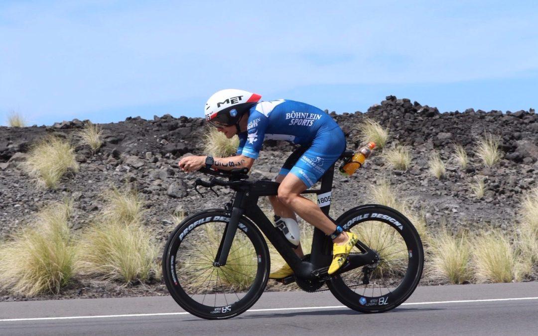 Böhnlein Sport goes Ironman Hawaii – Martin Falk on fire!