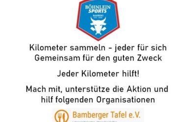 1. Böhnlein Sports Bamberg Spendenmarathon am 19.04.20