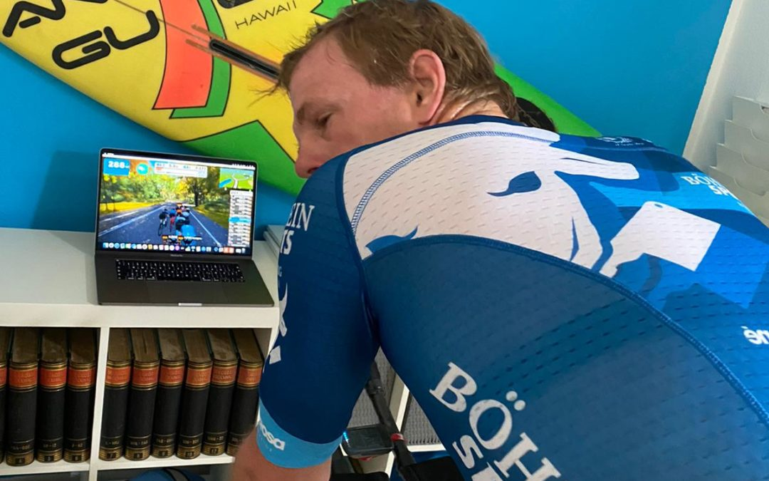 "Böhnlein Sports goes ""Zwift Tri Series"""
