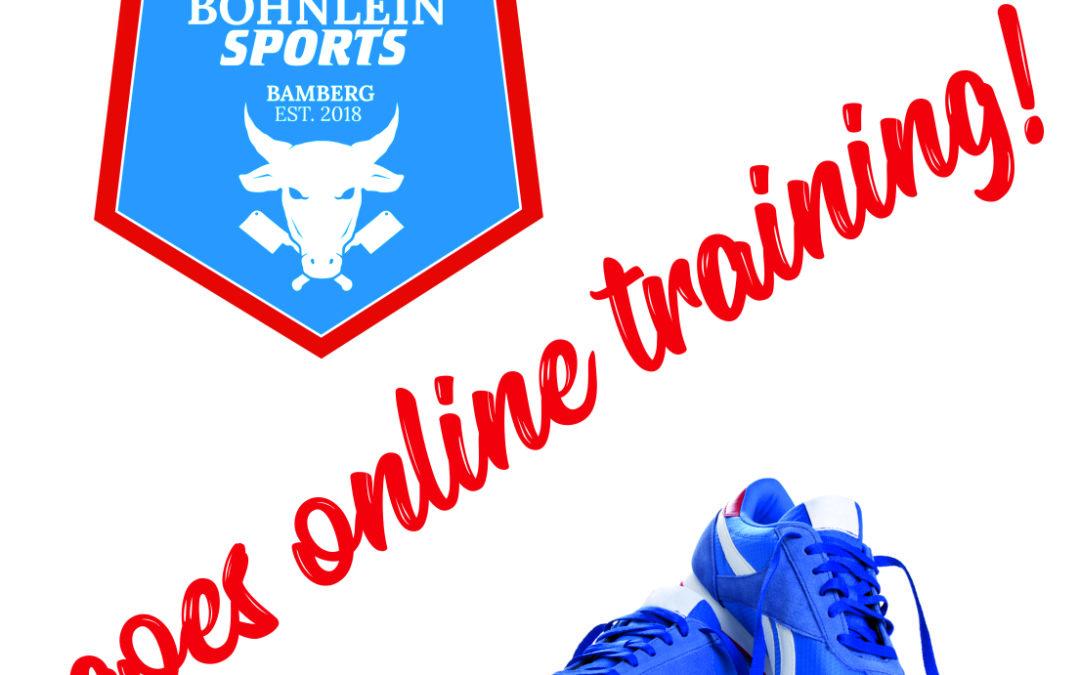 Böhnlein Sports goes Online – Training!