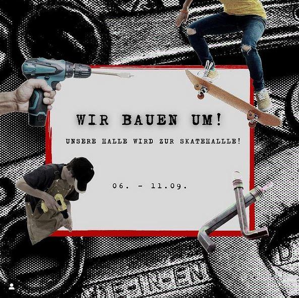 """Jetzt geht`s los – """"Spatenstich"""" für`s Bamberger Indoor Skating!"""