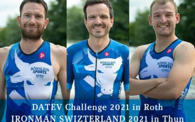 Showdown: DATEV Challenge in Roth & IRONMAN SWITZERLAND